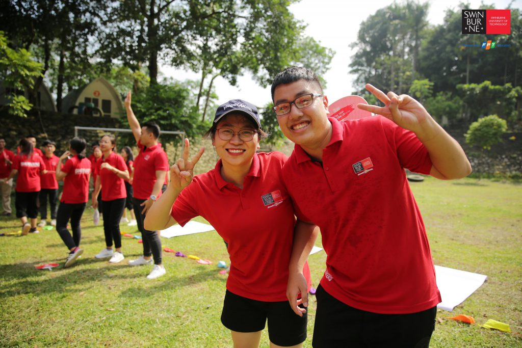 Swinburne Việt Nam teambuilding