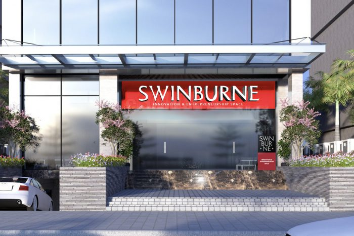 Located on 80 Duy Tan, Hanoi, Swinburne Innovation Space marks a new milestone in the partnership between Swinburne Vietnam and Vietnam's leading tech companies in FPT group's ecosystem.